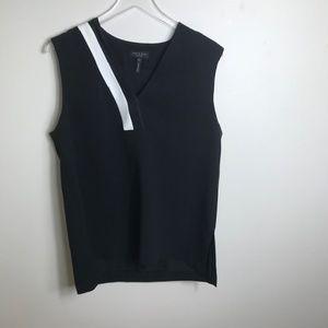 Rag and Bone black white Top Shirt size Large 2291